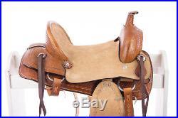10 New Western Leather Youth Child Horse Pony Ranch Saddle Hard Seat