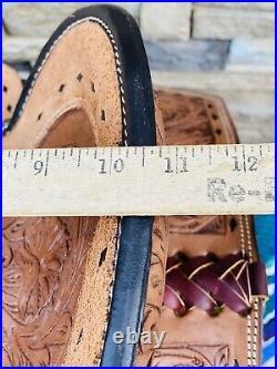 10- Wildstar Saddle Co. Youth Barrel Saddle, Ranch, Cowboy, Pencil roll, Cute