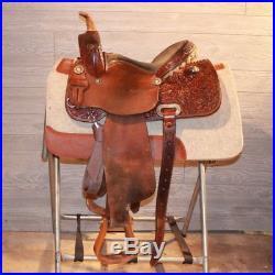 13.5 Jeff Smith Barrel Saddle