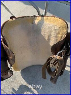 14.5 Bob Marshall by Circle Y Treeless Barrel Saddle