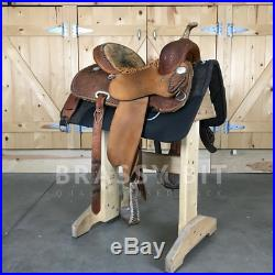 14.5 Jeff Smith Cowboy Collection Barrel Saddle PRICE REDUCED