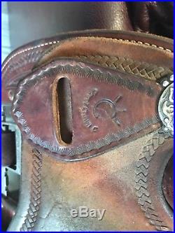 14.5 in cervi, martin barrel saddle 7W gullet