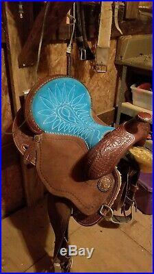 14.5 martin barrel saddle