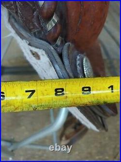 14 Blue Ridge Western Saddle