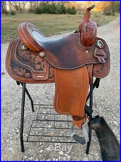 14 Courts Barrel Saddle