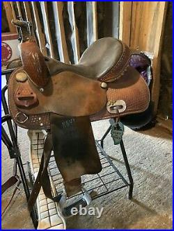 14 Inch Barrel Saddle Textan