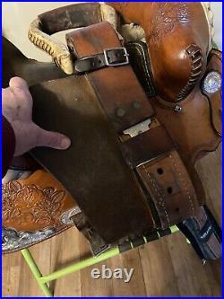 14 Southeastern Barrel Horse Saddle