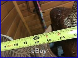 14 Used Billy Cook Barrel Saddle