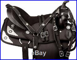 15 16 17 18 Codura Western Barrel Pleasure Trail Show Horse Saddle Tack