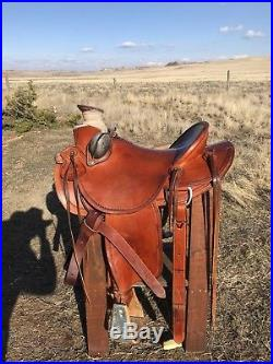 15 1/2 Handmade Wade Saddle