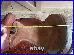 15 1/2 Saddle King Barrel Saddle