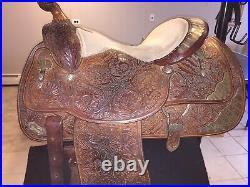 15.5 Circle Y Equitation Saddle Full Quarter Horse Bars