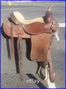 15.5 Custom Made Courts Barrel Saddle Sharron Camirillo Edition