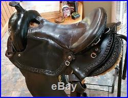 15.5 Imus 4-Beat Gaited Saddle