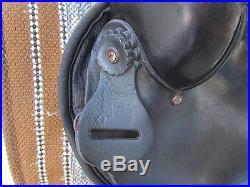 15.5.'' Nash Saddlery Barrel /trail western saddle QH BARS LEATHER & SYNTHETIC