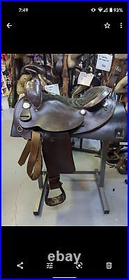 15.5 Simco Arabian Saddle