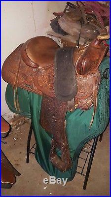 15.5 western saddle