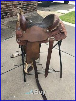 15 Billy Cook Barrel Saddle