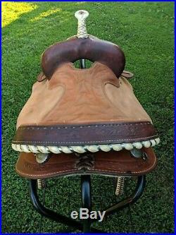 15 Billy Cook Saddlery Barrel Racing Saddle Model # 8030