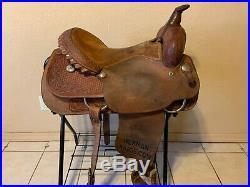 15 Billy Cook Western Saddle