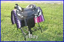 15 Blue Ribbon silver show saddle