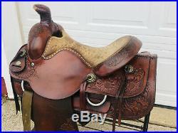 15 CIRCLE Y Western Horse ROPING Saddle