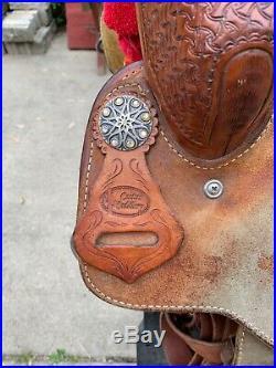 15 Cactus Barrel Saddle