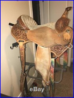15 Charmayne James Barrel Saddle