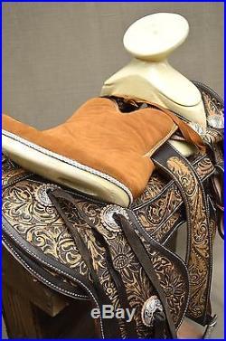 15 Charro Horse Saddle Montura Charra Silla Caballo