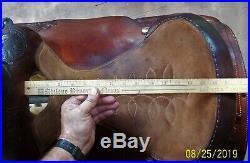 15 Circle Y Sweet Home Yoakum Texas Used Western Roping Pleasuer Trail Saddle