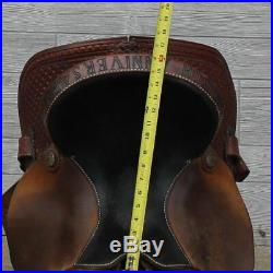15 Coats Lazy L Barrel Saddle