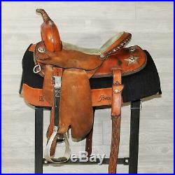 15 Deb Sibley Barrel Saddle
