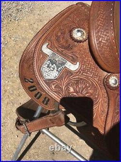 15 In martin Roping Saddle