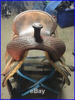 15 Martin Crown C Barrel Saddle