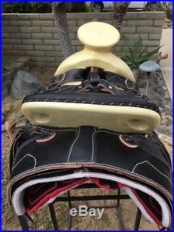 15' Mexican Charro Saddle. Montura Charra