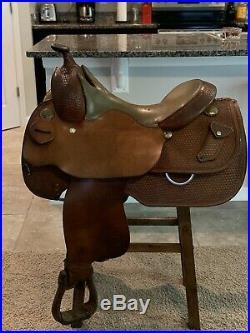 15 Reining Saddle