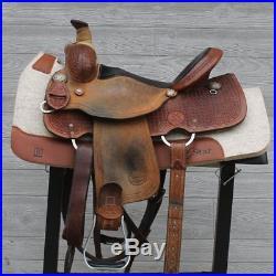 15 Reinsman X-Series All Around Saddle