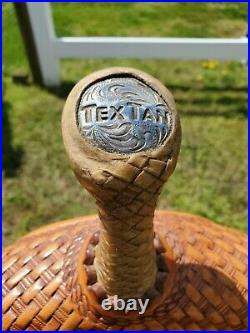 15 Tex Tan Barrel Saddle