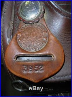 15 Used Circle Y Show Western Saddle 3-1135-1