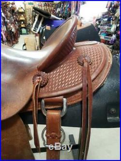 15 Used Western McCall Lady Wade Saddle 2-1207