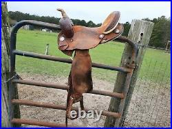 15 barrel saddle used