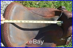 15 used Western trail /pleasure saddle US made for Arabian