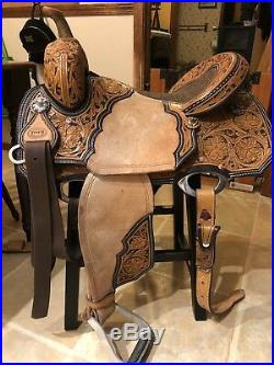 15in Corriente Barrel Saddle
