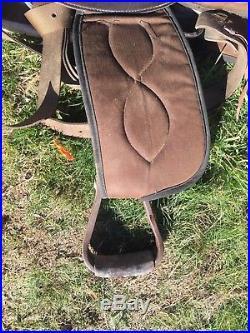 16 Big Horn Cushion Flex Tree Saddle 288