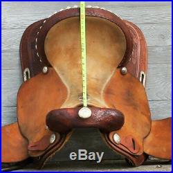 16 Billy Cook Feather Racer Barrel Saddle