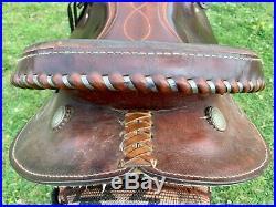 16 Blue Ridge Barrel Saddle with Saddle Pad