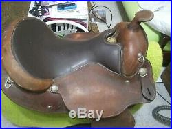 16 CICLE Y western saddle semi bar 7 gullet