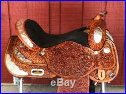 16 CIRCLE Y Flex Lite Western EQUITATION Show Saddle w Silver LIGHT WEIGHT