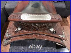 16 CIRCLE Y WESTERN PLEASURE/TRAIL Equitation SADDLE