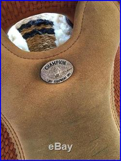 16 Champion Turf Ranch Versatility/Reining/Show Saddle DISCOUNTED $200